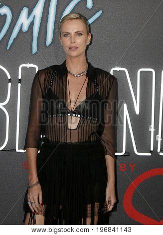 LOS ANGELES - JUL 24:  Charlize Theron at the