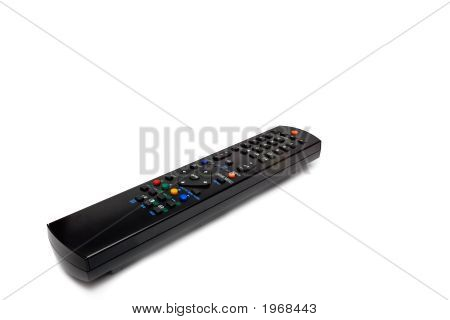 Black Remote Control Keypad For Tv