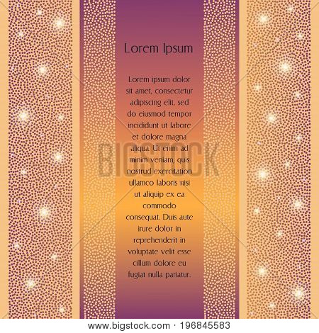 Confetti Polka Dots Background. Can Be Used For Wedding Invitation And Greeting Cards.