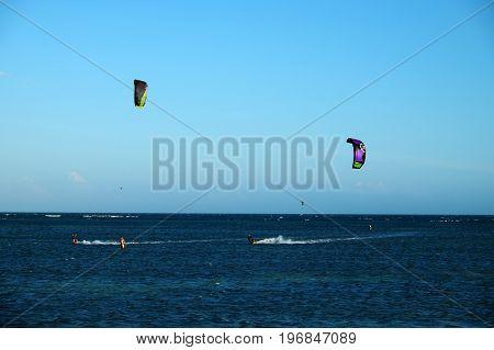 Kite Surfing Water Sport
