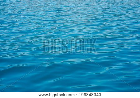 Hectic water blue sea macro day nature