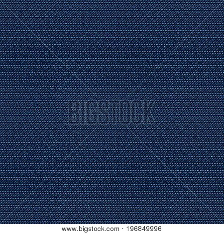 Dark blue jeans texture. Denim background. Pattern can be used for wallpaper pattern fills web page background surface textures. Denim texture