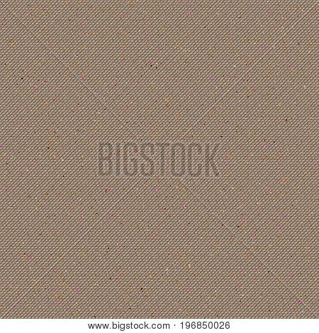 Realistic seamless cotton sailcloth texture. Abstract rough sackcloth fabric. Beige linen canvas texture. Vector design.