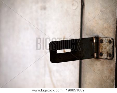 COLOR PHOTO OF SILHOUETTE/ DARK SHAPE OF HINGE