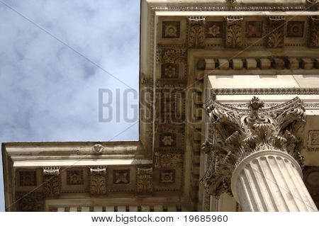 Corinthian Column and Entablature
