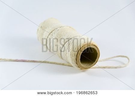 Thread Roll Isolated On White Background