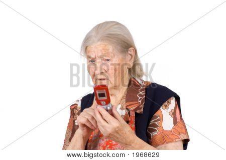 The Grandmother Studies Phone