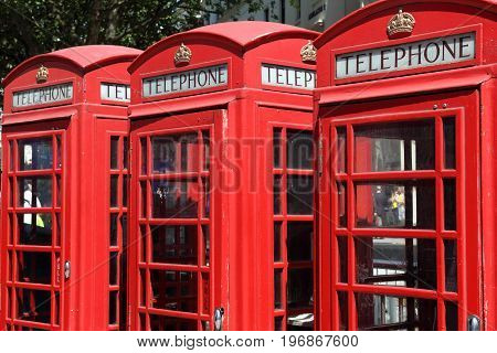Multiple Phone Booths
