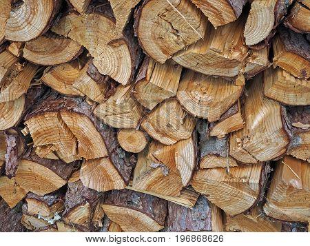 fold up chopped wood - rustic background