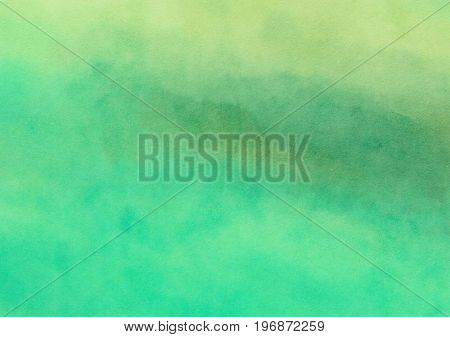 A digitally painted watercolour background texture with blended shades and hues.