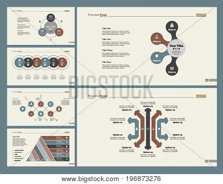 Infographic design set can be used for workflow layout, diagram, annual report, presentation, web design. Business and recruitment concept with process charts.