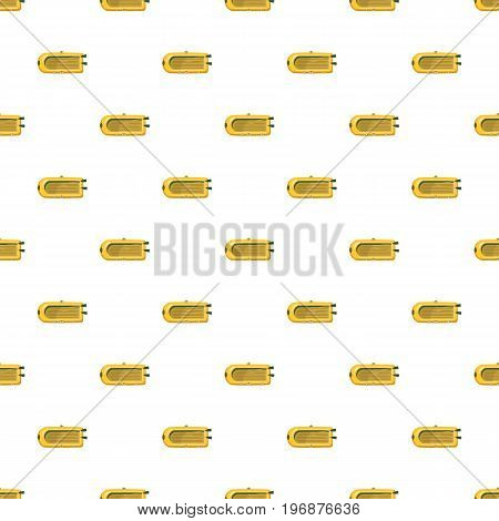 Inflatable boat pattern seamless repeat in cartoon style vector illustration