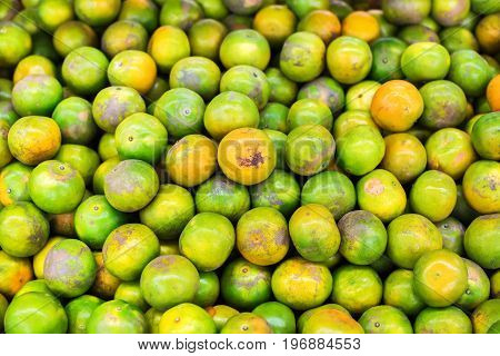 Tangerine Tropical Citrus Fruit Natural Market