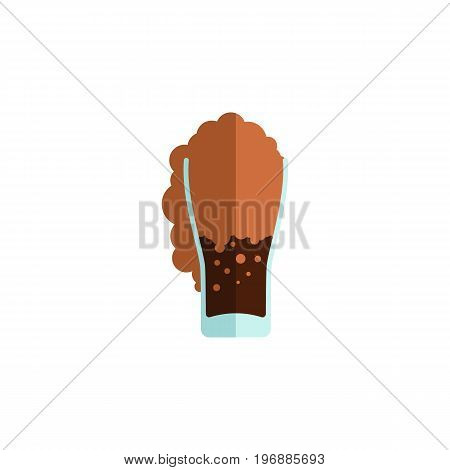 Soda Vector Element Can Be Used For Soda, Carbonated, Drink Design Concept.  Isolated Carbonated Flat Icon.