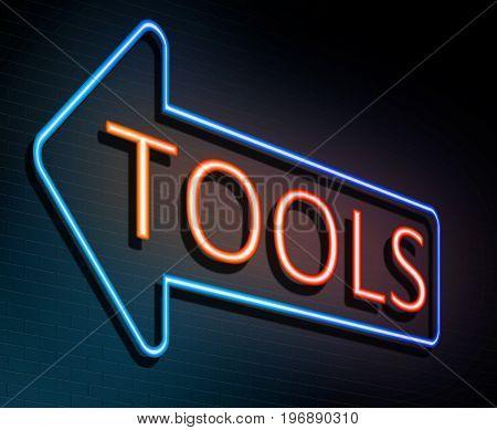 Neon Tools Concept.