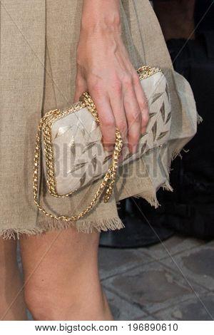 PARIS, FRANCE - JULY 05:  Actress Anna Mouglalis attends Vogue Foundation Dinner  as part of Paris Fashion Week  Haute Couture Fall/Winter 2017-2018 July 4, 2017  Paris, France