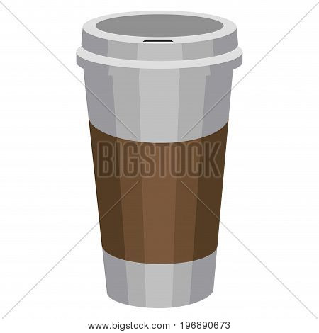 Isolated Coffee Plastic Cup