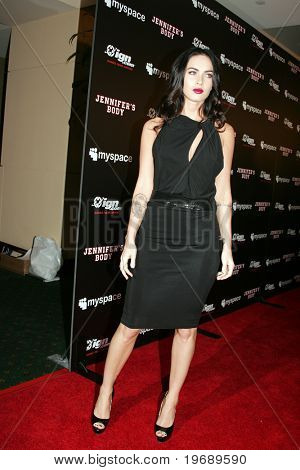 SAN DIEGO, CA - JULY 23: Actress Megan Fox attends MySpace/IGN Jennifer's Body Party held at the Manchester Grand Hyatt in San Diego, CA on July 23, 2009.