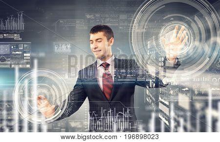 Using innovative technologies. Mixed media