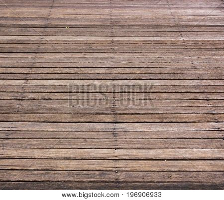 Background and texture of horizontal wood board.