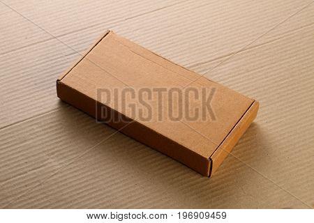 Corrugated Card Board Box / Carton for Mockup