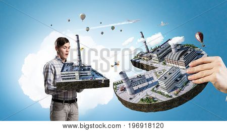 Concept of industrial construction