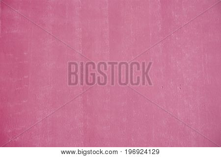 Pink painted wall texture with copy space your writing text of background.