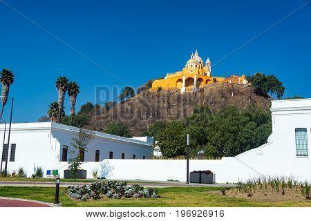 Church In Cholula, Mexico