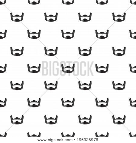 Lens hood pattern seamless repeat in cartoon style vector illustration