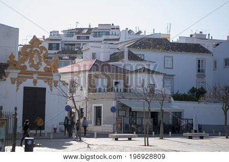 Portugal Algarve Lagos Old Town