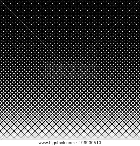 Grey abstract halftone square pattern background - vector illustration from squares in varying sizes