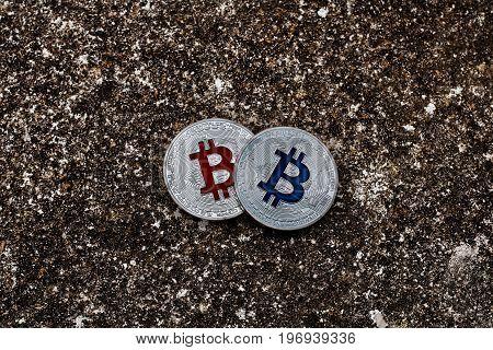 Silver Bitcoins Dark Scene