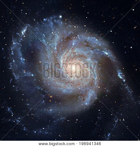 Pinwheel Galaxy Messier 101, M101 In The Constellation Ursa Majo