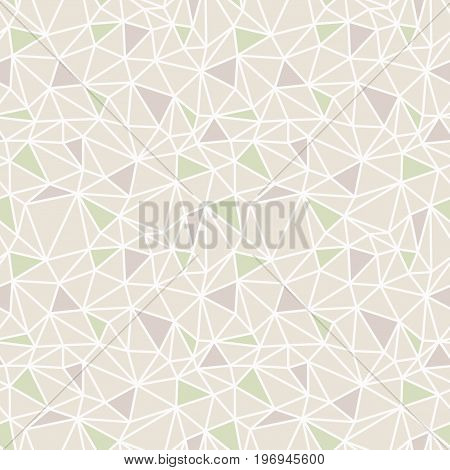 Vector abstract low poly seamless pattern. May be used as a background