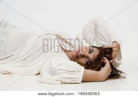 Woman Laying Down
