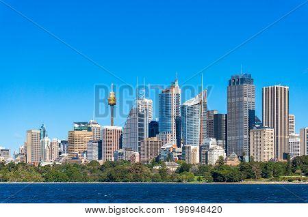 Sydney Central Business District Cityscape