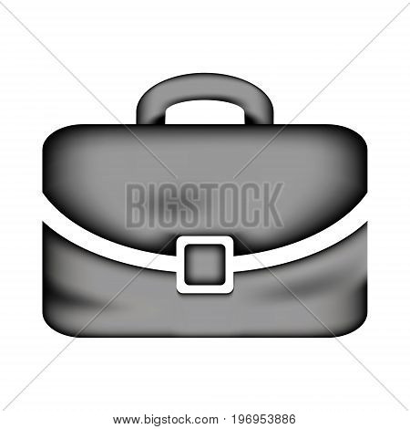 Portfolio icon sign on white background. Vector illustration.