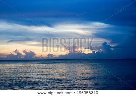 Sunset In Sanibel Island