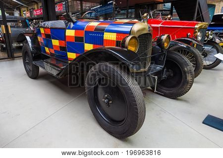 BERLIN - MAY 10 2015: Vintage car Citroen 5 CV Type C2 Torpedo 1923. The 28th Berlin-Brandenburg Oldtimer Day