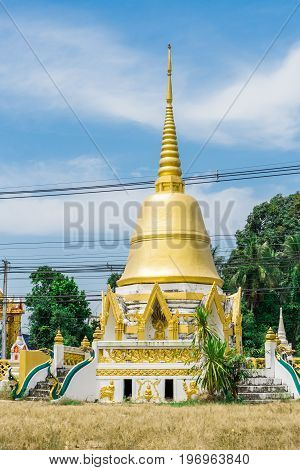 Golden Pagoda is located in the temple. Be respectful of local people.