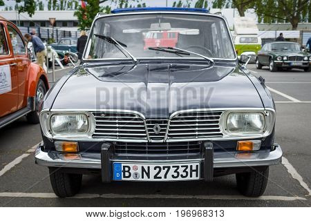BERLIN - MAY 10 2015: Large family car Renault 16TL. 28th Berlin-Brandenburg Oldtimer Day