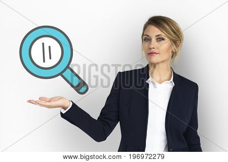 Magnifying Glass Lupe Search Find