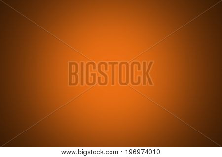 orange color for background usage with vignetting of dark or black blur border gradient.