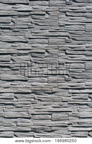 stone brick wall detail close up background