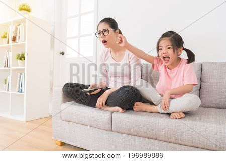 The Little Girl Seeing The Favorite Team Winning