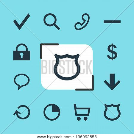 Editable Pack Of Talk Bubble, Money Making, Minus And Other Elements.  Vector Illustration Of 12 Interface Icons.