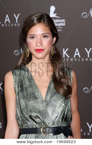 LOS ANGELES - JUL 22:  Kelsey Chow arrives at the Neil Lane Bridal Collection Debut at Drai's at The W Hollywood Rooftop on July 22, 2010 in Los Angeles, CA ....