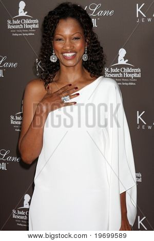 LOS ANGELES - JUL 22:  Garcelle Beauvais arrives at the Neil Lane Bridal Collection Debut at Drai's at The W Hollywood Rooftop on July 22, 2010 in Los Angeles, CA ....