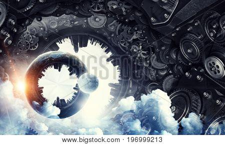 Metal gear mechanism
