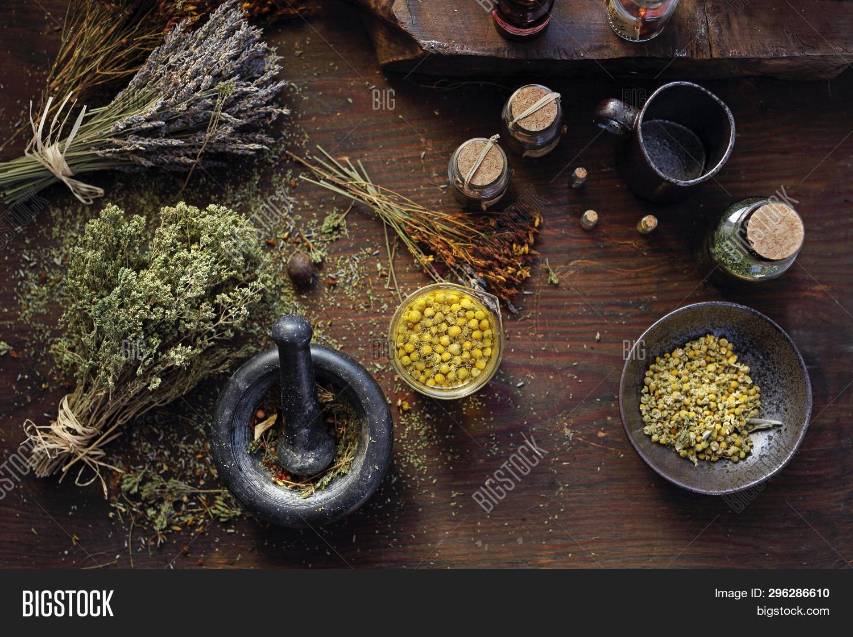 Herbal Medicine Image Photo Free Trial Bigstock